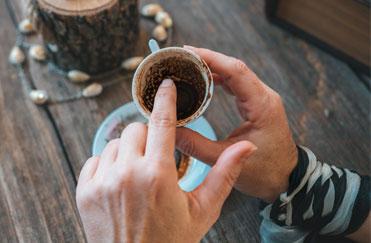 I FONDI DI CAFFÈ